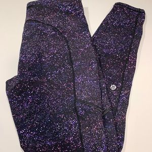Lululemon Speed Up Tight Legging Galaxy Print 8